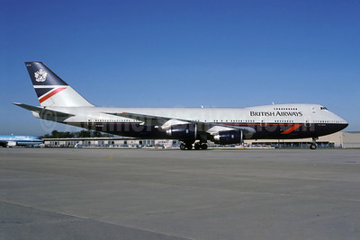 British Airways Boeing 747-236B G-BDXG (msn 21536) LGW (Rolf Wallner). Image: 913225.