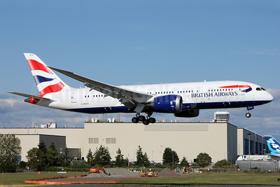 British Airways Boeing 787-8 Dreamliner G-ZBJA (msn 38609) PAE (Nick Dean). Image: 912549.
