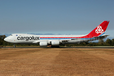Cargolux Airlines International (Luxembourg) Boeing 747-8R7F LX-VCF (msn 35811) PAE (Nick Dean). Image: 909350.