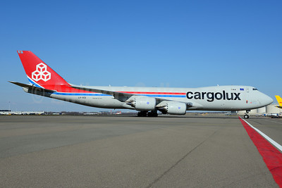 Cargolux Airlines International (Luxembourg) Boeing 747-8R7F LX-VCG (msn 35812) AMS (Ton Jochems). Image: 911603.