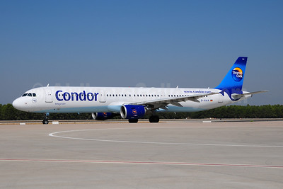 Condor Flugdienst-Thomas Cook Airbus A321-211 D-AIAA (msn 1607) AYT (Ton Jochems). Image: 909407.