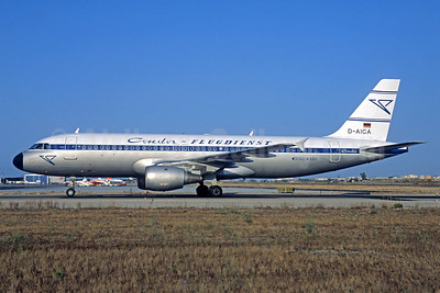 Condor Flugdienst Airbus A320-212 D-AICA (msn 774) (1961 retrojet) PMI (Jacques Guillem Collection). Image: 911960.