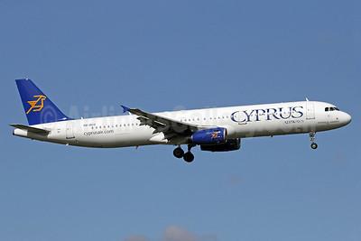 Cyprus Airways Airbus A321-231 5B-DCO (msn 2730) LHR (Michael B. Ing). Image: 902546.