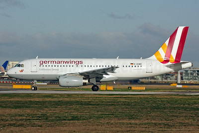 Germanwings (2nd) Airbus A319-132 D-AGWC (msn 2976) LHR (Terry Wade). Image: 910903.