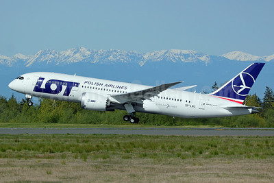 LOT Polish Airlines Boeing 787-8 Dreamliner SP-LRC (msn 35940) PAE (Nick Dean). Image: 911988.