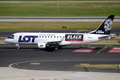 LOT Polish Airlines Embraer ERJ 170-200LR (ERJ 175) SP-LIN (msn 17000313) (Mike Tyson-The Original Premium Black Energy) DUS (TMK Photography). Image: 913258.