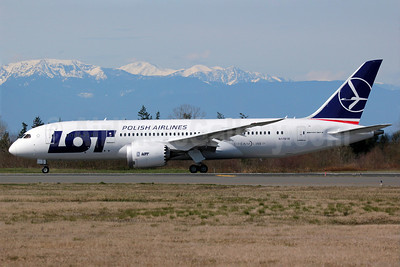 LOT Polish Airlines Boeing 787-8 Dreamliner N1791B (SP-LRC) (msn 35940) PAE (Nick Dean). Image: 911629.