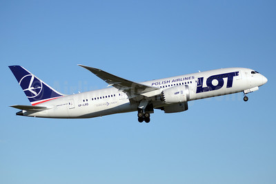 LOT Polish Airlines Boeing 787-8 Dreamliner SP-LRD (msn 35941) YYZ (TMK Photography). Image: 913106.