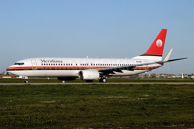 Meridiana Boeing 737-84P WL EI-IGN (msn 35074) BLQ (Marco Finelli). Image: 911757.