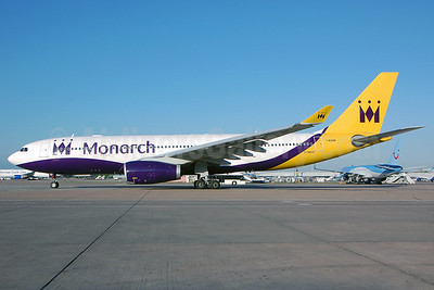 Monarch Airlines Airbus A330-243 G-SMAN (msn 261) MAN (Nik French). Image: 912415.