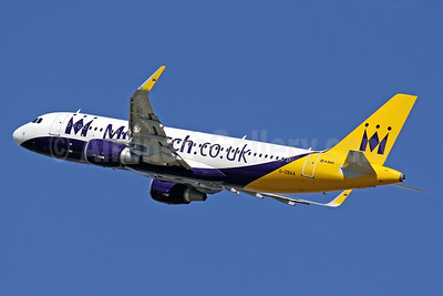 Monarch Airlines (Monarch.co.uk) Airbus A320-214 WL G-ZBAA (msn 5526) (Sharklets) PMI (Javier Rodriguez). Image: 911600.