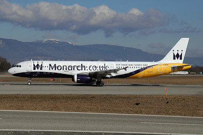 Monarch Airlines (Monarch.co.uk) Airbus A321-231 G-OZBS (msn 1428) (Fly Your Way Every Day) GVA (Paul Denton). Image: 910058.