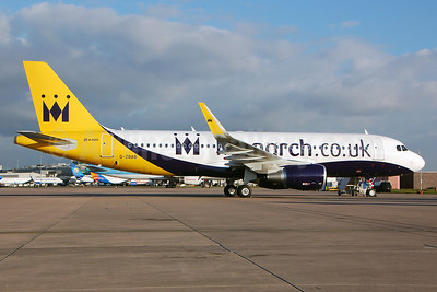 Monarch Airlines (Monarch.co.uk) Airbus A320-214 WL G-ZBAB (msn 5581) MAN (Nik French). Image: 911860.