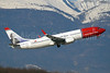 Norwegian Air Shuttle (Norwegian.com) Boeing 737-8JP WL LN-NOT (msn 37816) (Piet Hein) GVA (Paul Denton). Image: 907585.