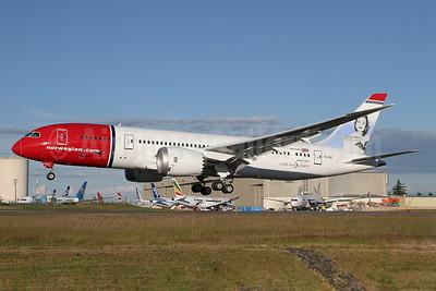 Norwegian Air Shuttle (Norwegian.com) Boeing 787-8 Dreamliner EI-LNA (msn 35304) PAE (Duncan Kirk). Image: 912717.