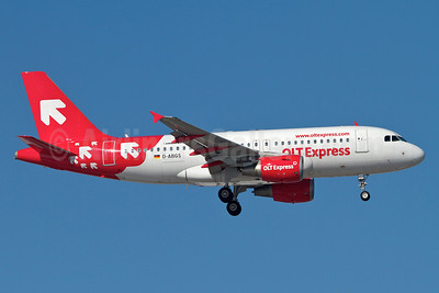 OLT Express (Poland) Airbus A319-111 D-ABGS (SP-IBA) (msn 3865) MUC (Arnd Wolf). Image: 911331.