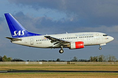 Scandinavian Airlines-SAS Boeing 737-683 SE-DOR (msn 28305) DUB (SM Fitzwilliams Collection). Image: 910232.