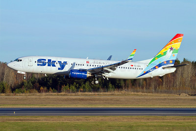 Sky Airlines (Turkey) Boeing 737-83N WL TC-SKS (msn 32348) (Adam and Eve) ARN (Stefan Sjogren). Image: 910126.
