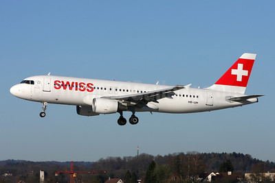Swiss International Air Lines Airbus A320-214 HB-IJH (msn 574) ZRH (Andi Hiltl). Image: 911797.