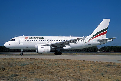 Tatarstan Airlines (Tatarstan Aircompany) Airbus A319-112 VQ-BNF (msn 3331) AYT (Jacques Guillem Collection). Image: 911961.
