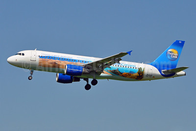 Thomas Cook Airlines Airbus A320-214 OO-TCI (msn 1975) (Gran Canaria - Choose a great destination) BRU (Karl Cornil). Image: 912050.