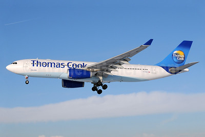 Thomas Cook Airlines (UK) (Thomas Cook.com) Airbus A330-243 G-TCXA (msn 795) MAN (Rob Skinkis). Image: 910952.