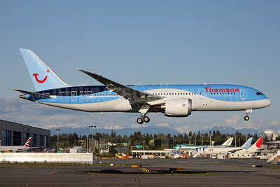 Thomson Airways Boeing 787-8 Dreamliner G-TUIA (msn 34422) PAE (Nick Dean). Image: 911981.