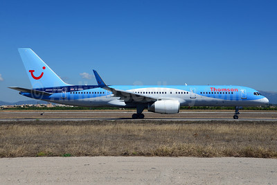 Thomson Airways Boeing 757-28A WL G-OOBA (msn 32446) PMI (Ton Jochems). Image: 912724.