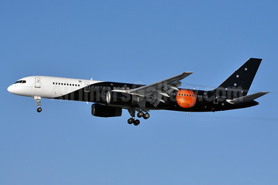 Titan Airways Boeing 757-256 G-ZAPX (msn 29309) LGW (Richard Vandervord). Image: 904961.
