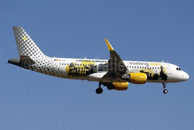 Vueling Airlines (Vueling.com) Airbus A320-214 WL EC-LVP (msn 5587) (Sharklets)