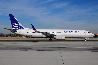 Copa Airlines Boeing 737-8V3 WL HP-1715CMP (msn 40361) LAX (Ton Jochems). Image: 910860.