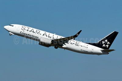 Copa Airlines Boeing 737-86N WL HP-1728CMP (msn 39396) (Star Alliance) GRU (Rodrigo Cozzato). Image: 908742.
