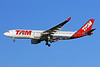 TAM Brasil (TAM Linhas Aereas) Airbus A330-223 PT-MVO (msn 949) LHR (Rolf Wallner). Image: 907733.