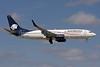 AeroMexico Boeing 737-8Q8 WL N858AM (msn 30671) MIA (Brian McDonough). Image: 908475.