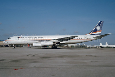 Air Marshall Islands McDonnell Douglas DC-8-62CF N799AL (msn 45922) MIA (Bruce Drum). Image: 103391.