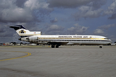 American Trans Air-ATA Boeing 727-227 N766AT (msn 21999) MIA (Bruce Drum). Image: 102555.