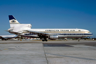 American Trans Air-ATA Lockheed L-1011-385-1 TriStar 50 N187AT (msn 1077) MIA (Bruce Drum). Image: 103270.