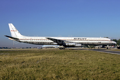 Airlift International McDonnell Douglas DC-8-63CF N6161A (msn 45969) MIA (Bruce Drum). Image: 103177.