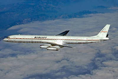 Airlift International McDonnell Douglas DC-8-63CF N6161A (msn 45969) (Stephen Tornblom Collection). Image: 921336.