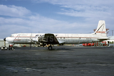 Airlift International Douglas DC-7C (F) Seven Seas N357AL (msn 45229) ATL (Bruce Drum). Image: 103173.