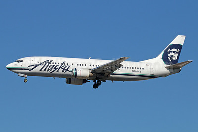 Alaska Airlines Boeing 737-490 N797AS (msn 28892)  LAX (Michael B. Ing). Image: 921391.