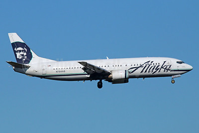 Alaska Airlines Boeing 737-4Q8 N754AS (msn 25095) ANC (Michael B. Ing). Image: 921734.
