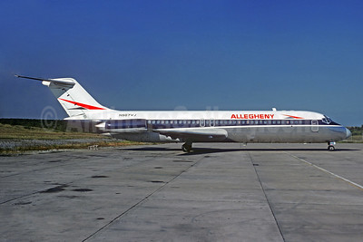 Allegheny Airlines (1st) McDonnell Douglas DC-9-31 N987VJ (msn 47210) PIT (Jacques Guillem Collection). Image: 928239.