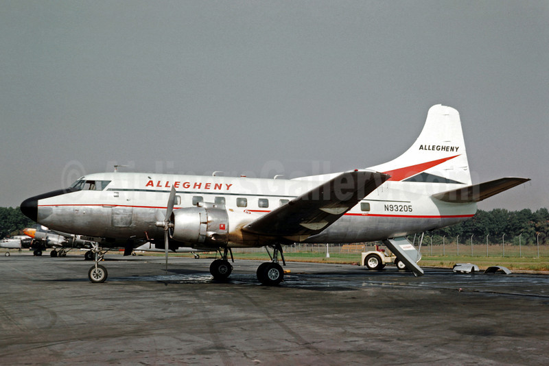 Allegheny Airlines (1st) Martin 202 N93205 (msn 14075) (Christian Volpati Collection). Image: 908498.