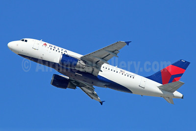 Delta Air Lines Airbus A319-114 N345NB (msn 1774) LAX (Michael B. Ing). Image: 921472.
