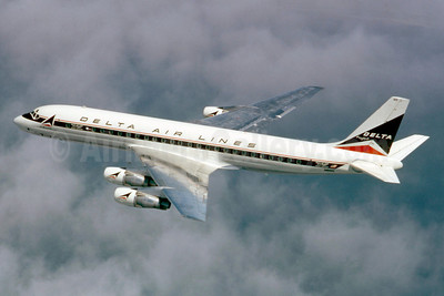 Delta Air Lines McDonnell Douglas DC-8-51 N816E (msn 45690) (Stephen Tornblom Collection). Image: 921238.