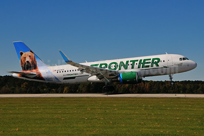 Frontier Airlines (2nd) Airbus A320-214 WL N227FR (msn 6184) (Grizwald, the Bear) RDU (Ken Petersen). Image: 924939.