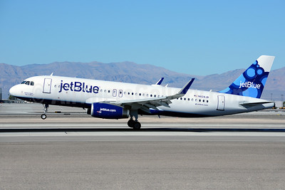 JetBlue Airways Airbus A320-232 WL N828JB (msn 5723) (Sharklets) (Blueberries) LAS (Ton Jochems). Image: 921147.