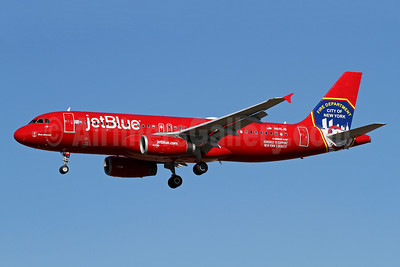 JetBlue Airways Airbus A320-232 N615JB (msn 2461) (FDNY - Fire Department New York) LAX (James Helbock). Image: 921211.