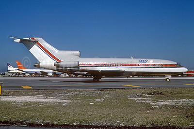 Key Air Boeing 727-22 N27KA (msn 18859) MIA (Keith Armes). Image: 920500.